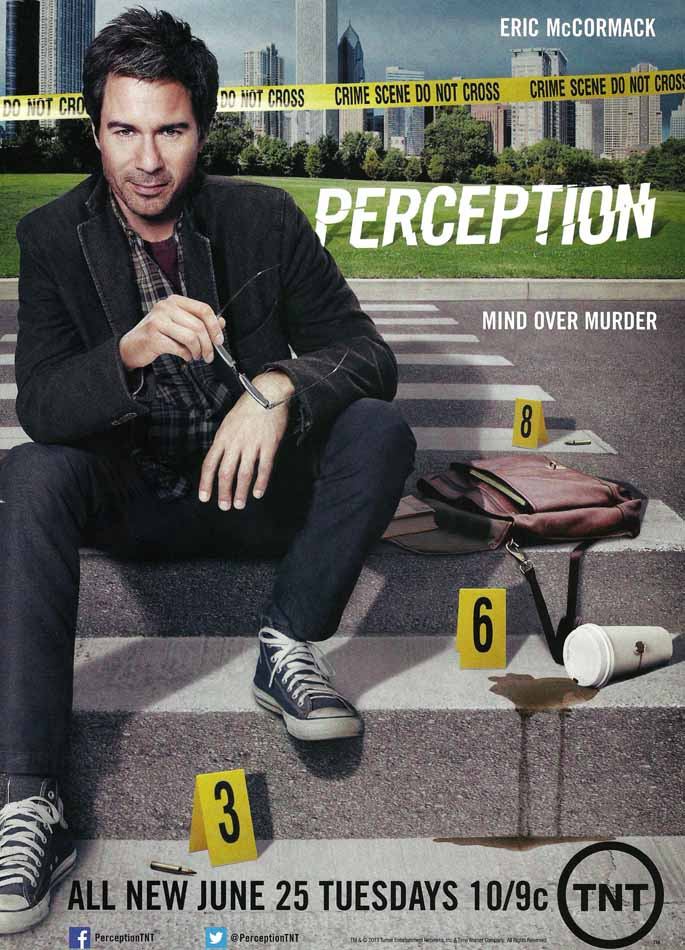 perception 2 Perception is an american crime drama television series created by kenneth biller and mike sussman the series stars eric mccormack as dr daniel pierce.