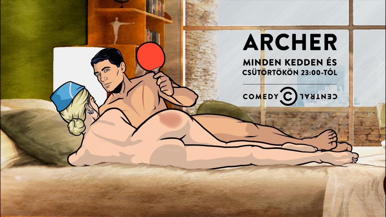 Archer nue sexy gallery