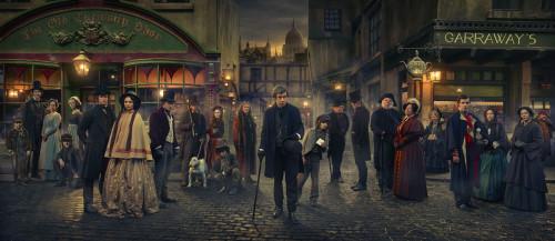 Dickensian-cast
