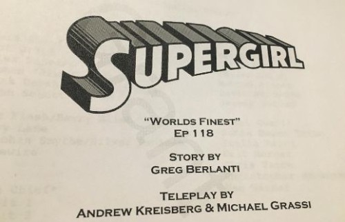 Supergirl - The Flash-crossover