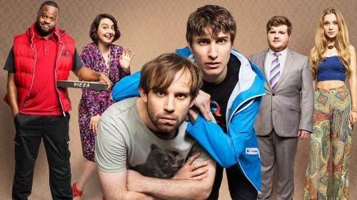 Flat TV-cast