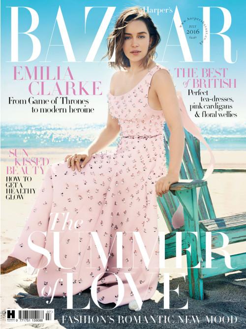 Emilia Clarke-Harpers Bazaar