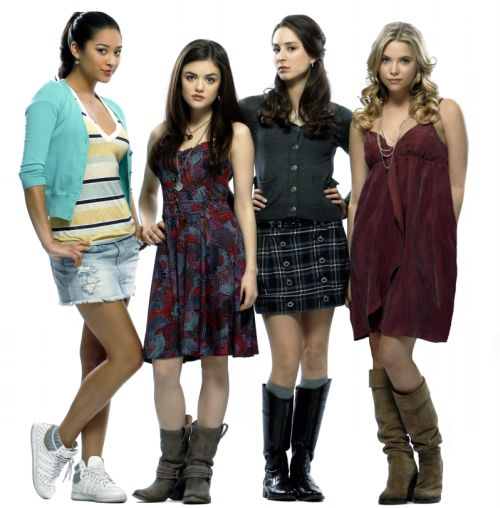 Pretty Little Liars - cast 1-kis