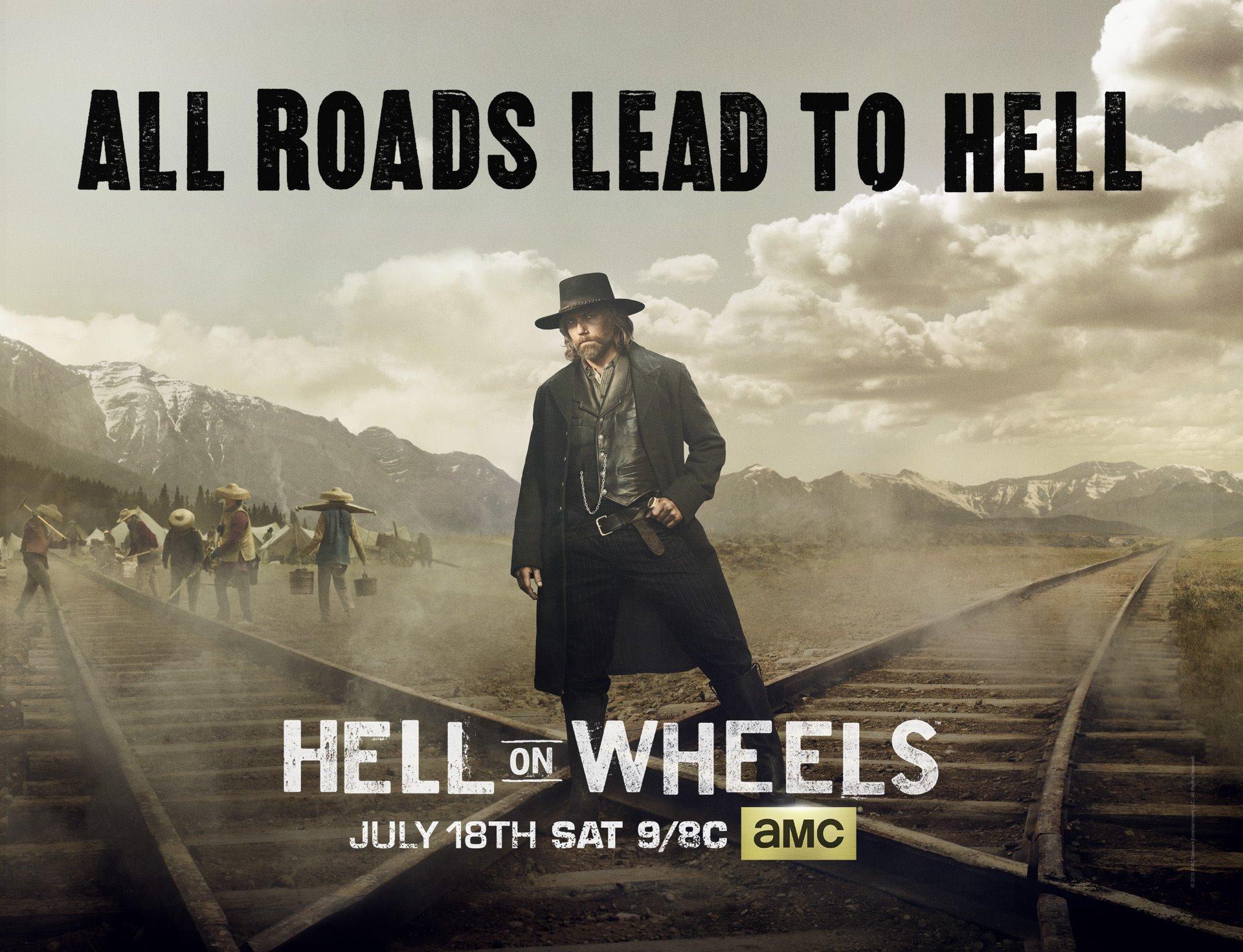 Hell on wheels season 5 premiere date