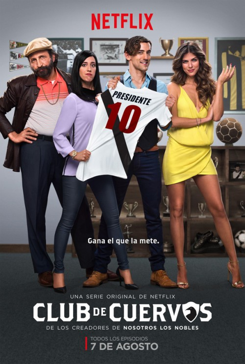 Club de Cuervos-poster