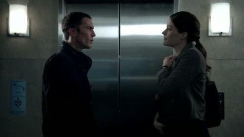 Limitless - 1x05-Desmond Harrington and Jennifer Carpenter