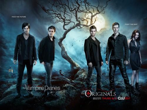 The Vampire Diaries S7 - The Originals S3-poster