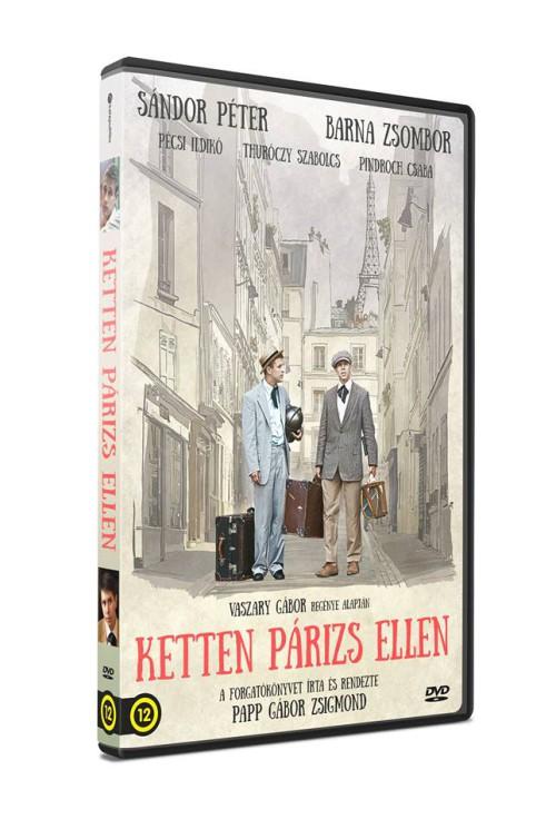 Ketten Párizs ellen DVD