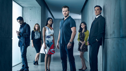"SECOND CHANCE – Pictured (L-R): Adhir Kalyan as Otto Goodwin, Vanessa Lengies as Alexa, Dilshad Vadsaria as Mary Goodwin, Rob Kazinsky as Ray Pritchard, Ciara Bravo as Gracie Pritchard, and Tim DeKay as Duval Pritchard – Photo Credit: © 2015 Justin Stephens/Fox Broadcasting Co. ""Second Chance"" premieres Wednesday, January 13, 2016 (9:00-10:00 PM ET/PT) on FOX."