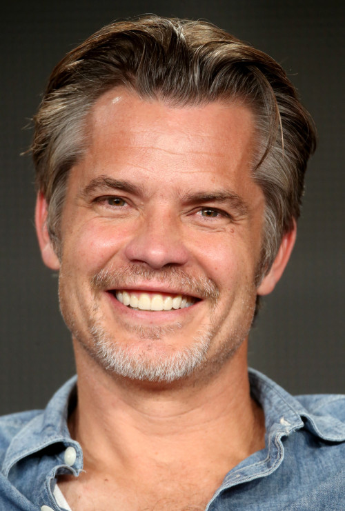 PASADENA, CA - JANUARY 18:  Actor Timothy Olyphant speaks onstage during the 'Justified' panel discussion at the FX Networks portion of the Television Critics Association press tour at Langham Hotel on January 18, 2015 in Pasadena, California.  (Photo by Frederick M. Brown/Getty Images)