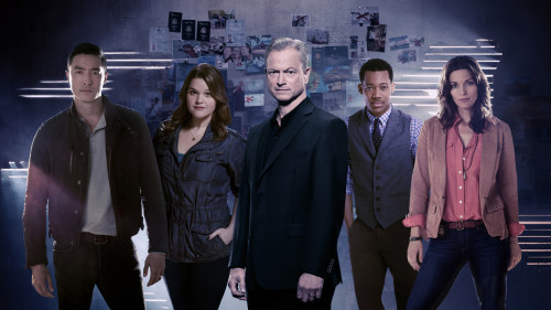 "(Left to right) Matt Simmons (Daniel Henney), Mae Jarvis (Annie Funke), Unit Chief Jack Garrett (Gary Sinise), Russ ""Monty"" Montgomery (Tyler James Williams) and Clara Seger (Alana De La Garza) comprise the International Repsonse Unit, the FBI division at the heart of the upcoming drama series, CRIMINAL MINDS: BEYOND BORDERS, which premieres Wednesday, March 16 (10:00-11:00 PM, ET/PT) on the CBS Television Network. The IRT is tasked with solving crimes and coming to the rescue of Americans who find themselves in danger while abroad. Photo Credit: © 2015 Kharen Hill/CBS."