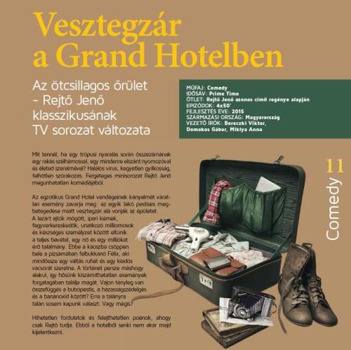 Vesztegzár a Grand Hotelben-ContentLAB