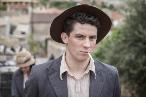 SID GENTLE FILMS PRESENTS THE DURRELLS FOR ITV EPISODE 1 Pictured: JOSH O'CONNOR as Larry Durrell. This image is the copyright of ITV and must only be used in relation to THE DURRELLS.