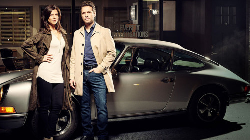 Private Eyes-cast