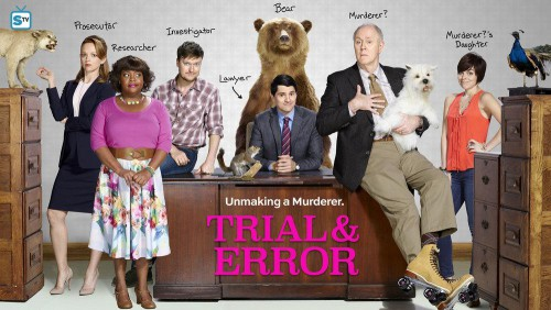 Trial and Error-cast