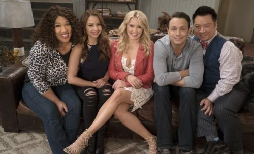 Young and Hungry-cast