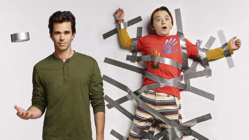 ABOUT A BOY -- Season 2 -- Pictured (L-R): David Walton as Will and Benjamin Stockham as Marcus -- Photo by Robert Trachtenberg/NBC.