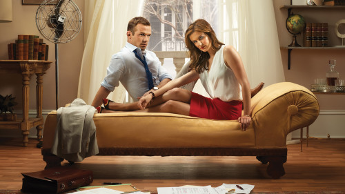 RECKLESS – Season 1 – Pictured (L-R): Cam Gigandet as Roy Rayder and Anna Wood as Jamie Sawyer.