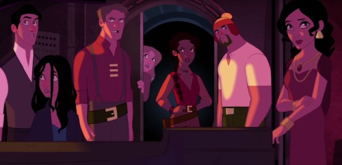 The Animated Adventures of Firefly-cast