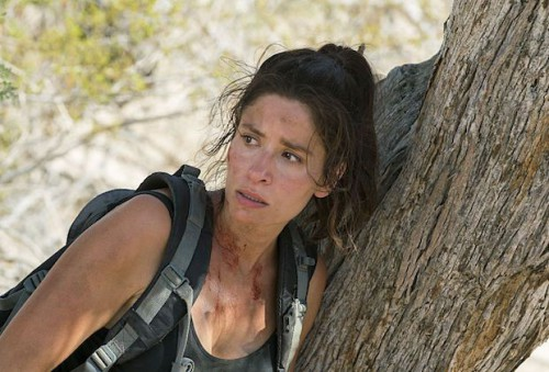 Mercedes Mason as Ofelia Salazar - Fear the Walking Dead _ Season 2, Episode 14 - Photo Credit: Peter Iovino/AMC