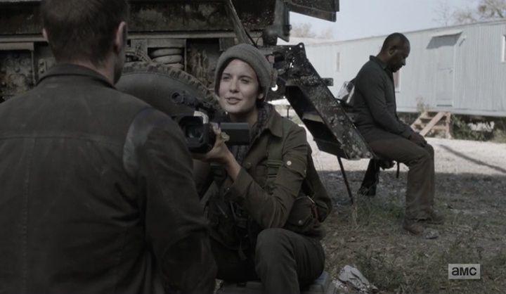 Daryl és Carol összekapcsolnak